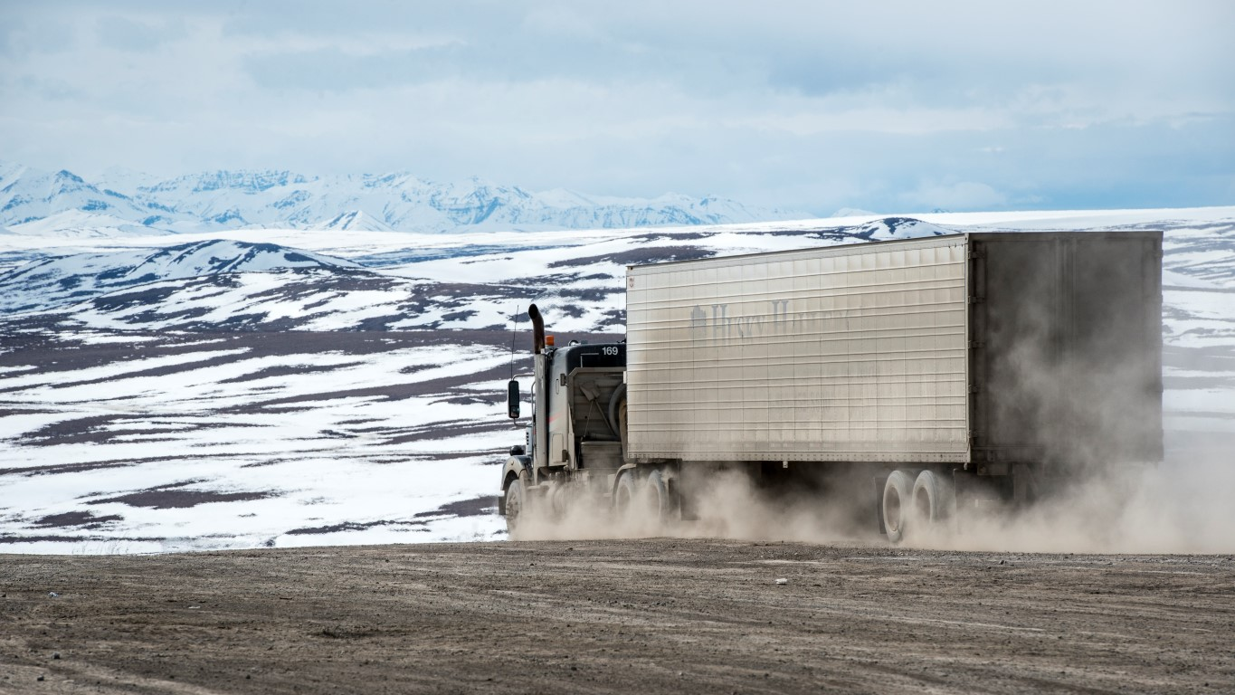 "An Adventure Up Alaska's ""North Slope Haul Road"""